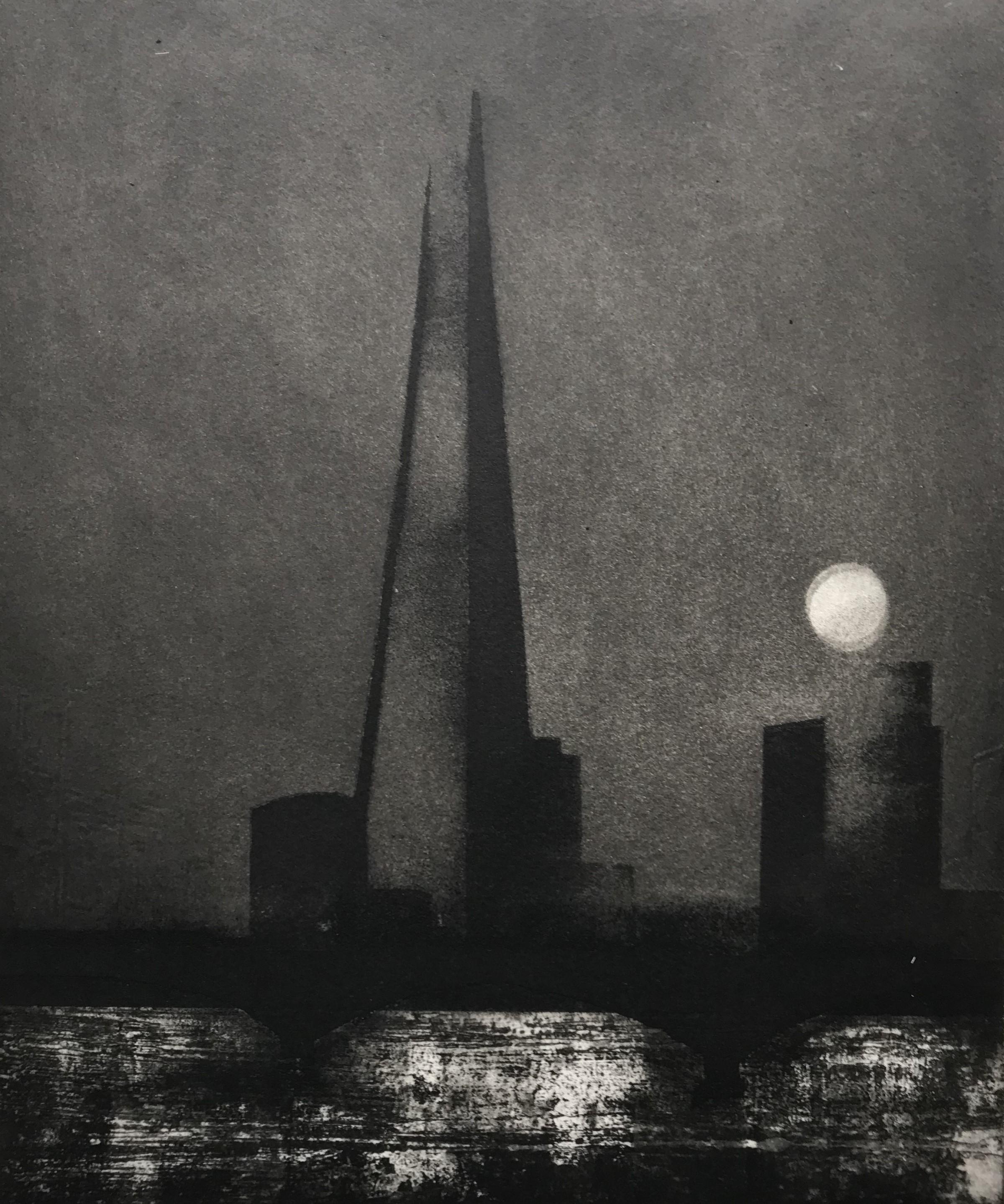 The Thames. Sturgeon Moon.