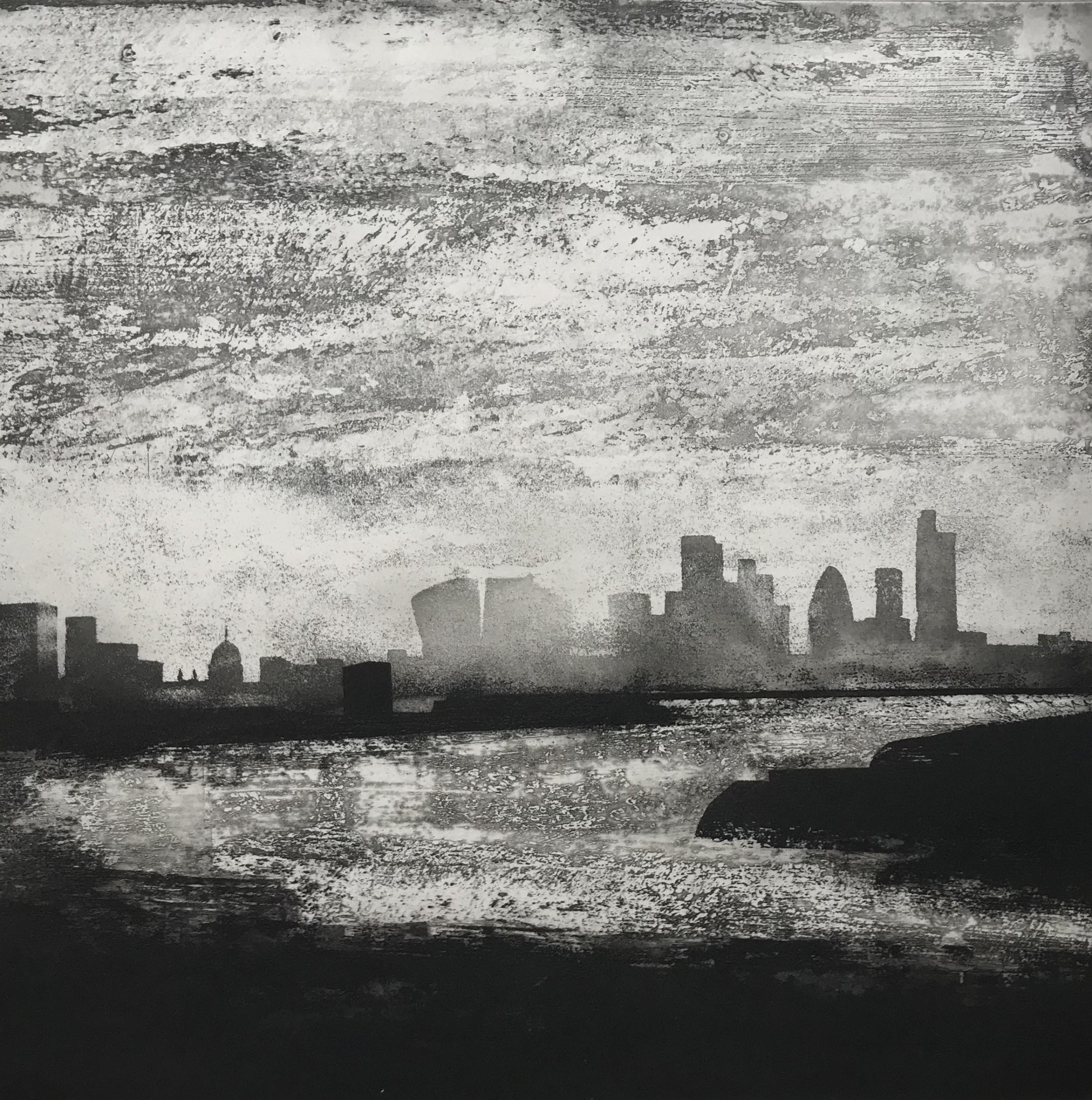 The Thames. Greenwich Reach