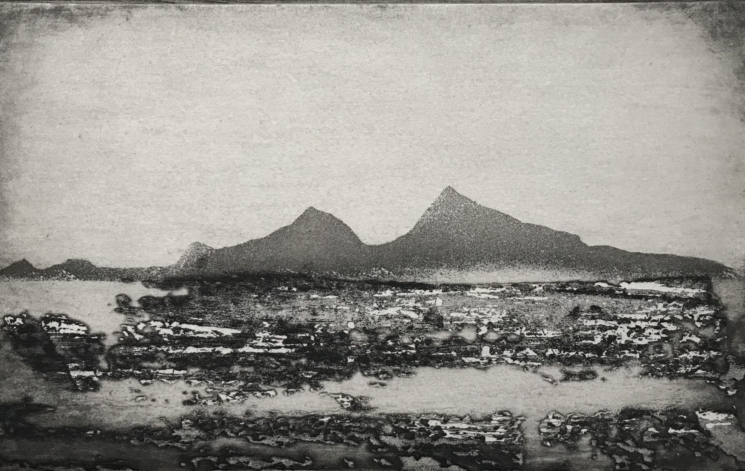 Ramsey Island from Grassholm Island